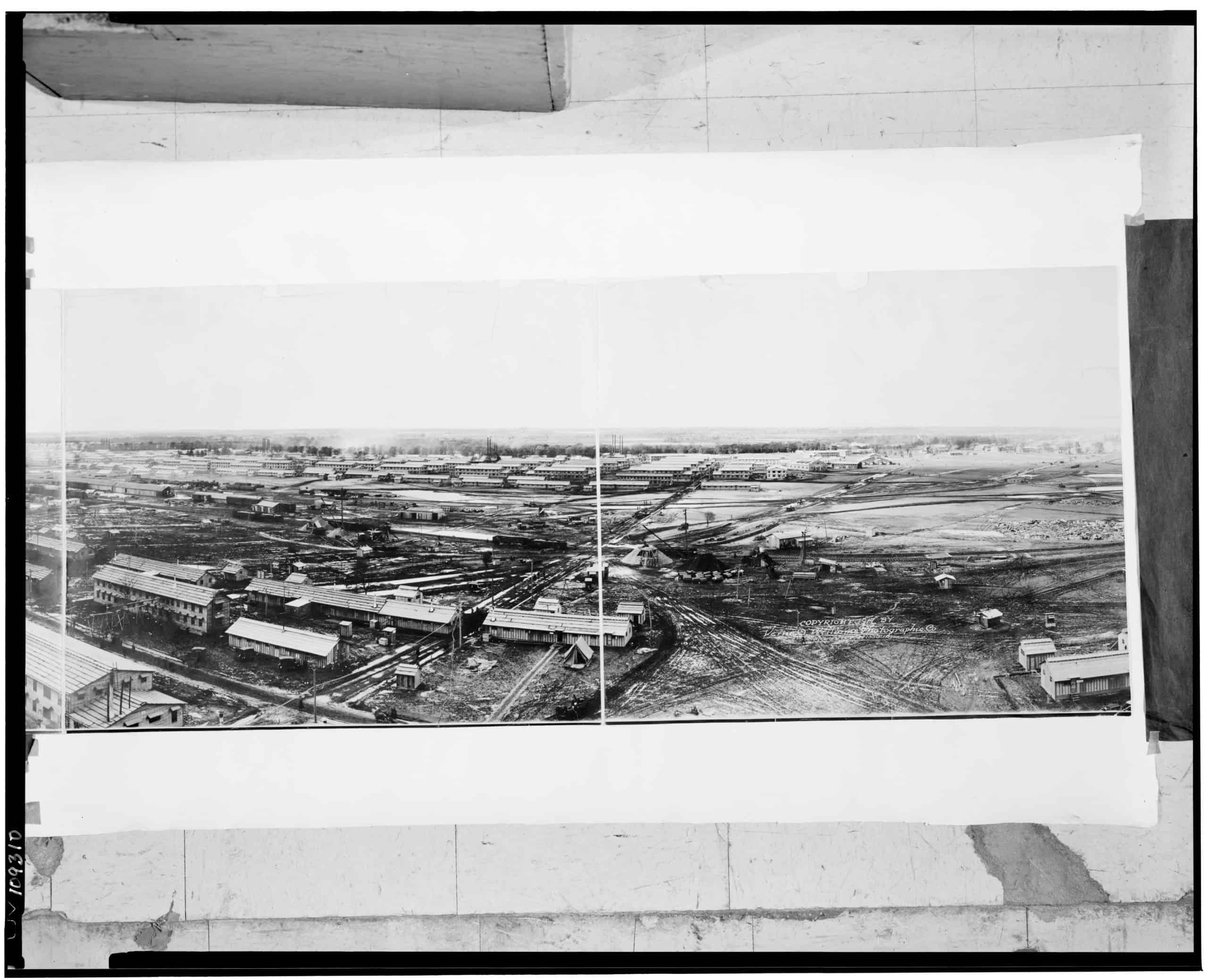 Camp Grant, Rockford, Illinois, Verne O. Williams Photographic Co, ca 1918