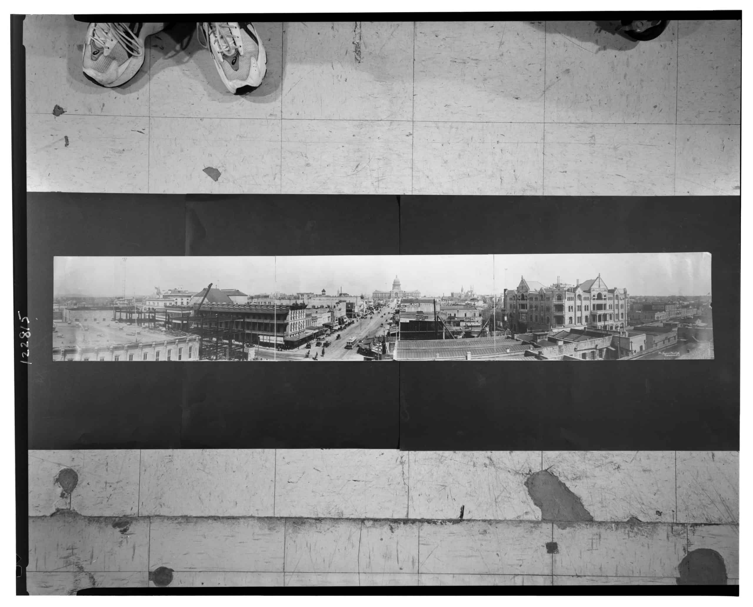 Panorama Austin, Texas, Haines Photo Co., ca 1910