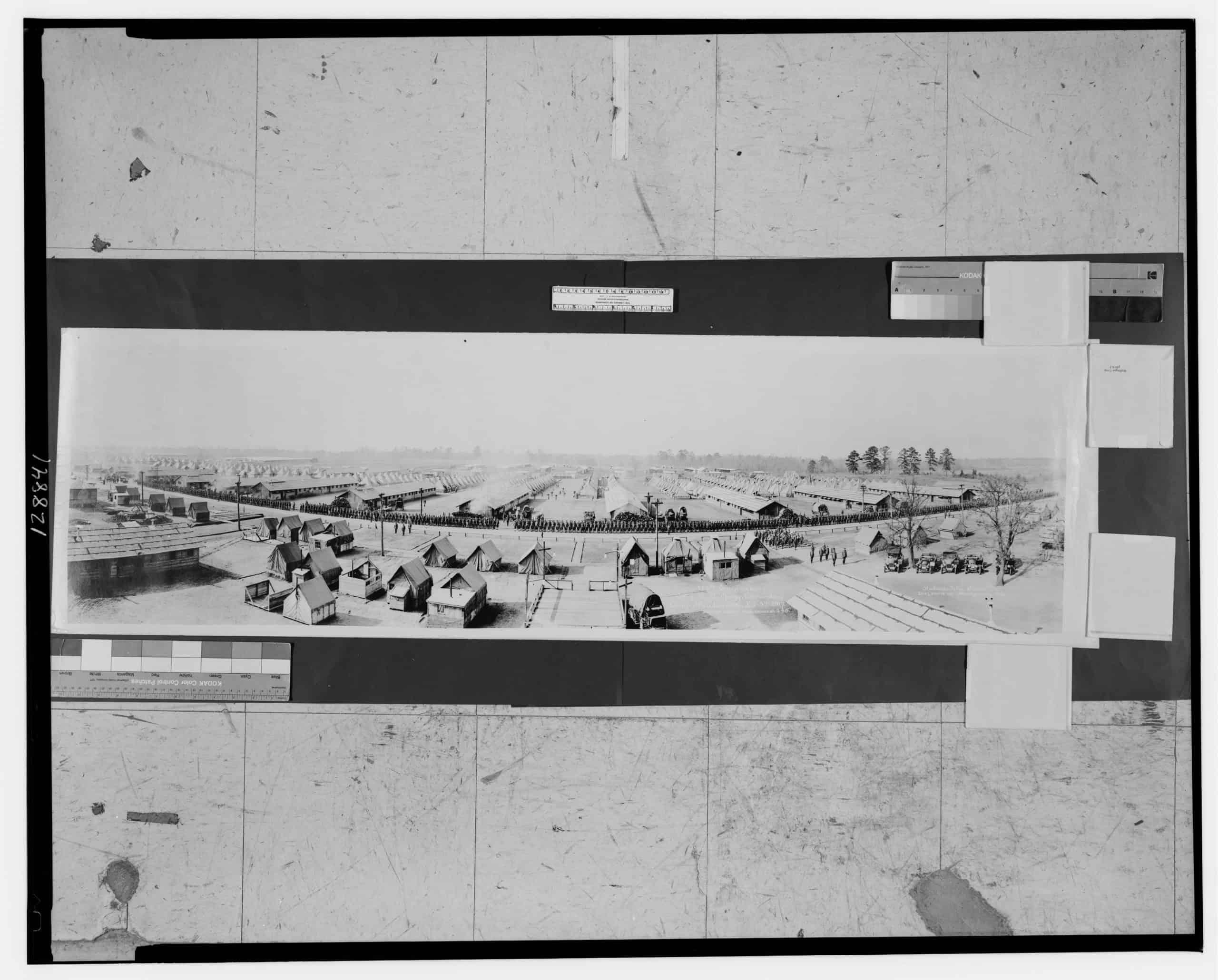 112th Engineers, Col. J. R. McGuigg, commanding, Camp Sheridan, Ala., Richards Film Service,1917