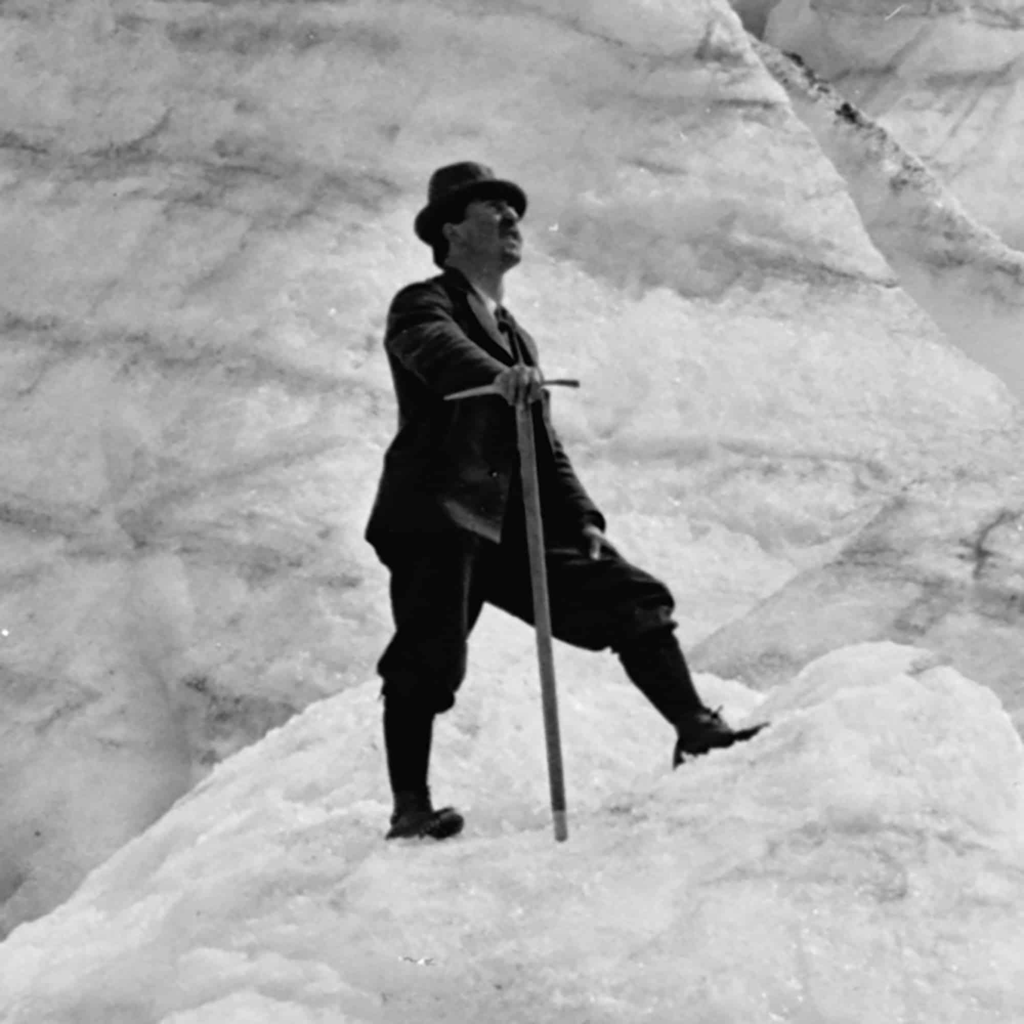 Illecillewaet Glacier from Seracs, crop