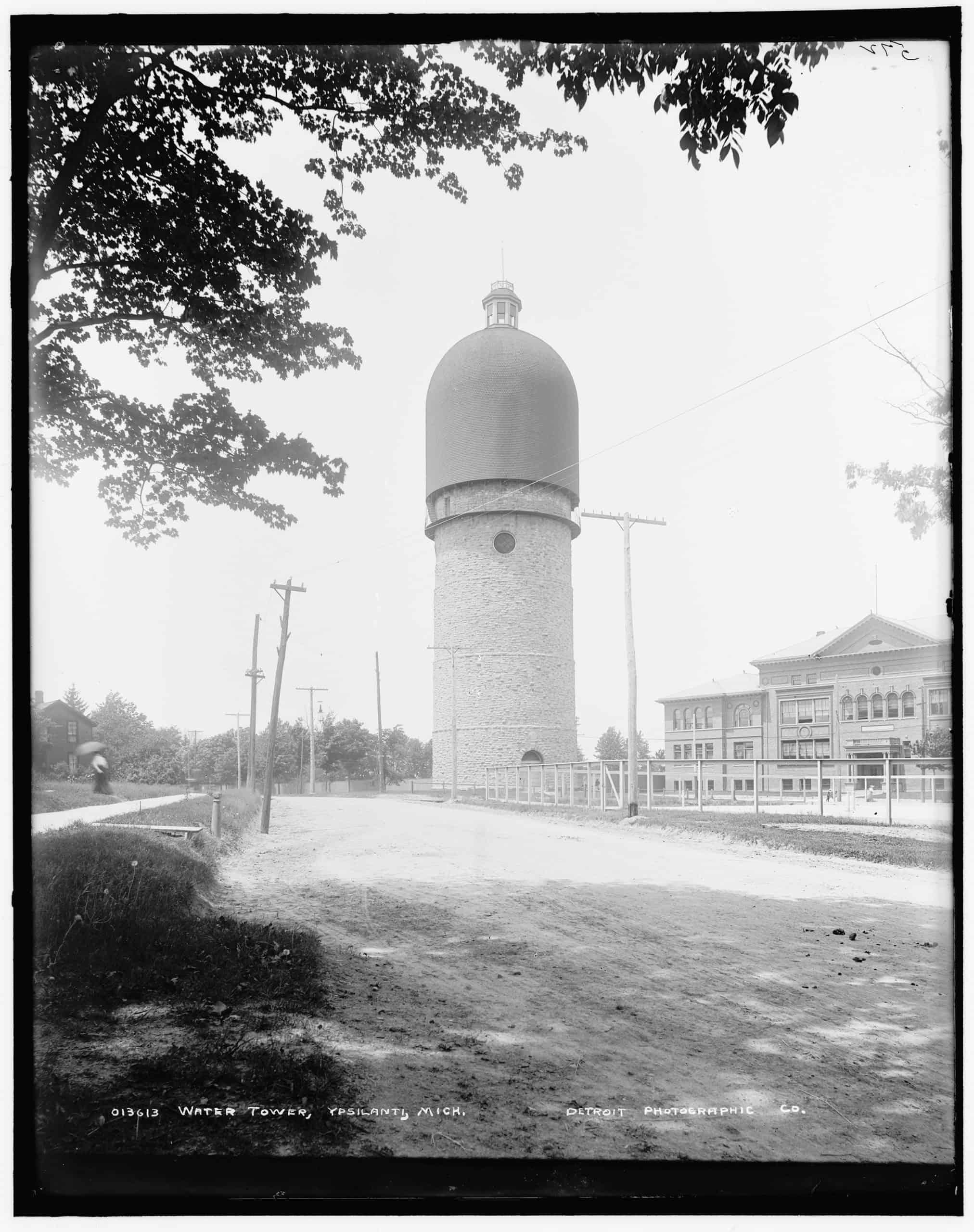 Water tower, Ypsilanti, Mich., Detroit Publishing Co., ca. 1900