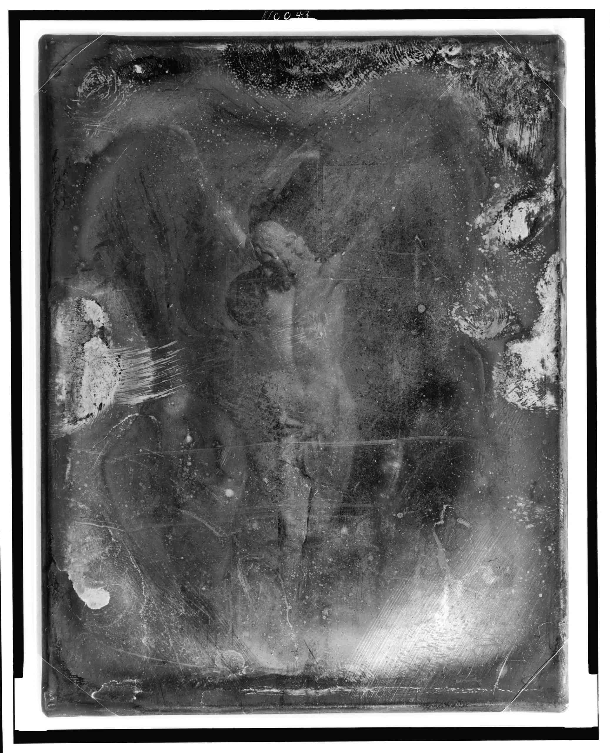 Crucifix, Mathew B. Brady, between 1844 and 1860